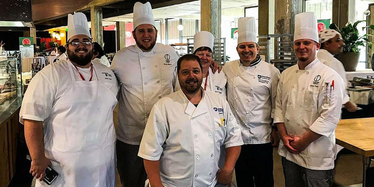 Penn State Chefs at UMass Chef Culinary Conference